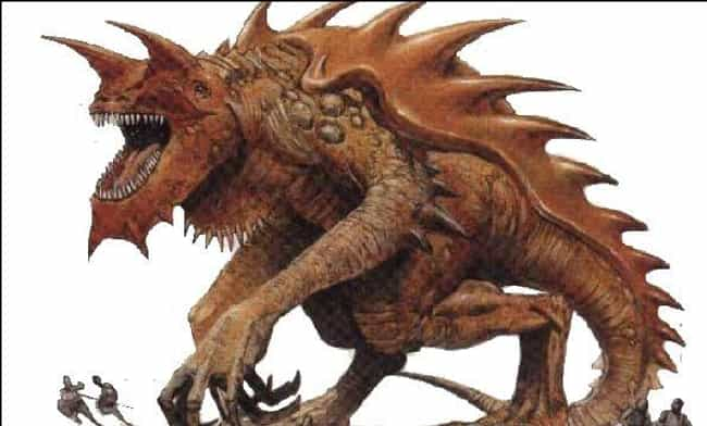 Tarrasque is listed (or ranked) 2 on the list The Most Monstrous Dungeons & Dragons Monsters