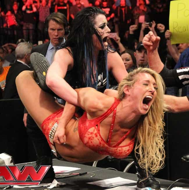 Paige Tap Out is listed (or ranked) 4 on the list The Top Submission Holds of WWE