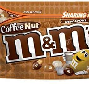 Coffee Nut M&Ms is listed (or ranked) 21 on the list The Best Flavors of M&Ms
