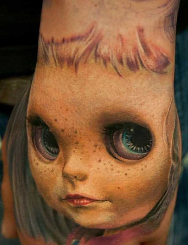 Nope. is listed (or ranked) 4 on the list Weird Body Art That Will Make You Lose Your Mind