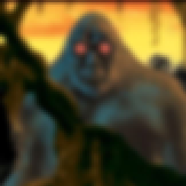Arkansas: Fouke Monster is listed (or ranked) 4 on the list Craziest Humanoid Cryptids by State