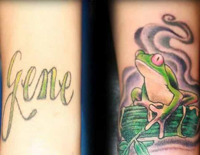 When the Whole Prince to Frog ... is listed (or ranked) 3 on the list Breakup Tattoo Wins