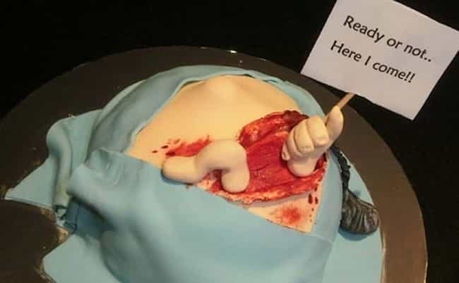 Wrong on TOO Many Levels is listed (or ranked) 3 on the list Weird Pregnancy Cakes You've Got to See to Believe