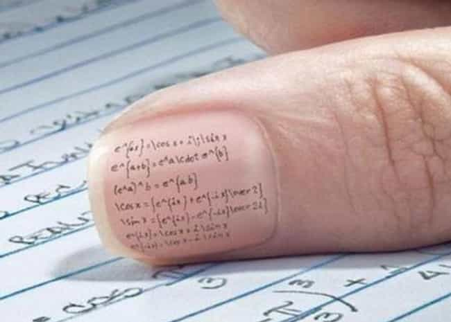 24 Creative Exam Hacks to Help You Cheat