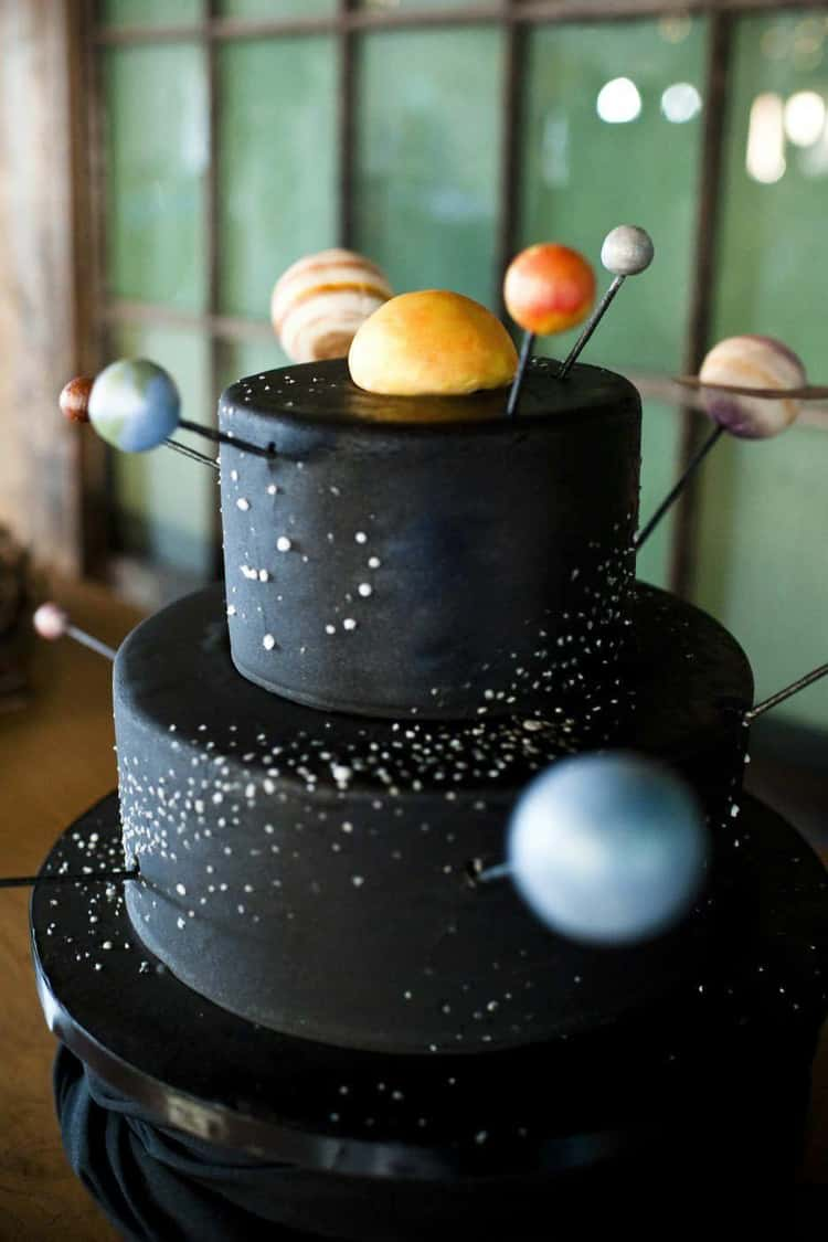 Fabulous 36 Space Cakes That Are Out Of This World Funny Birthday Cards Online Unhofree Goldxyz