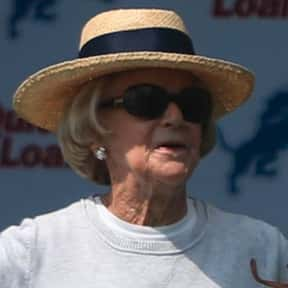 Martha Firestone Ford is listed (or ranked) 23 on the list The Best Current NFL Team Owners