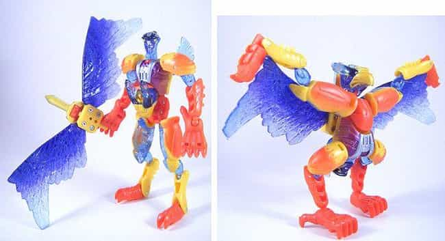 Silverbolt (beast Machines) is listed (or ranked) 2 on the list 34 Ridiculously Stupid Transformers Toys