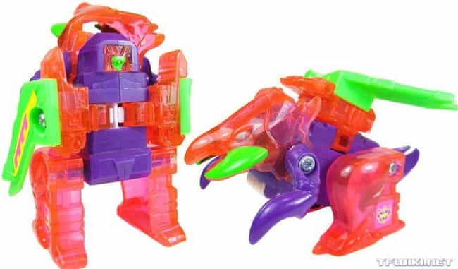 Sparkstalker is listed (or ranked) 3 on the list 34 Ridiculously Stupid Transformers Toys