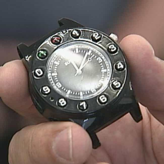 The Cell Phone Watch is listed (or ranked) 4 on the list The Most Unbelievable Things Ever Smuggled Into Prison