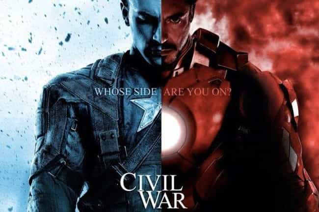 At Least Until the Next One is listed (or ranked) 3 on the list The Most Ecstatic Captain America: Civil War Reviews