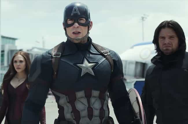 Shark-Like Momentum: The Best ... is listed (or ranked) 2 on the list The Most Ecstatic Captain America: Civil War Reviews