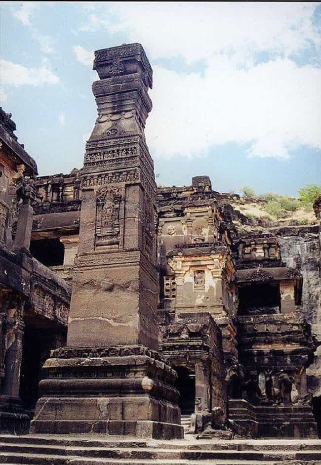 Ellora is listed (or ranked) 2 on the list Cool Things Carved Into Mountains & Cliffs Around the World