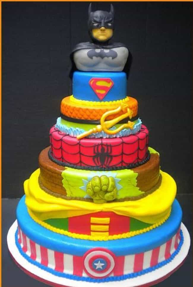 Behold, the King of the Nerd C... is listed (or ranked) 4 on the list 26 Amazing Nerdy Cakes That Are Too Geeky to Eat