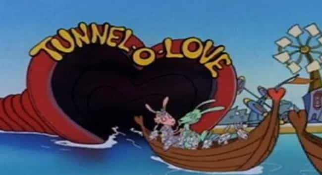 Tunnel-O-Love is listed (or ranked) 3 on the list Inappropriate Rocko's Modern Life Jokes That Went Right Over Your Head