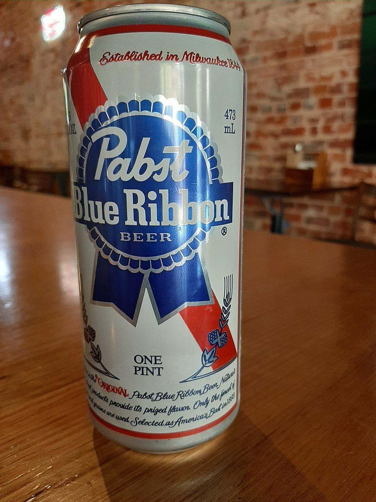PBRs Actually Used To Come Wit is listed (or ranked) 1 on the list 16 Things You Didn't Know About American Beer