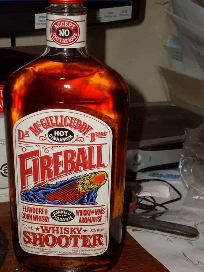 Its Original Name Was 'D... is listed (or ranked) 3 on the list 15 Things You Didn't Know About Fireball Whisky