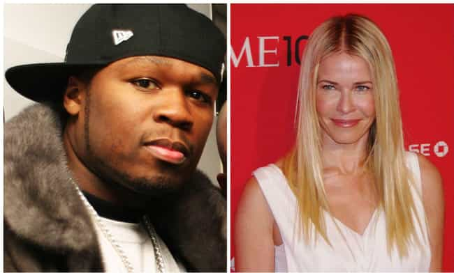 50 Cent and Chelsea Handler is listed (or ranked) 2 on the list Celebrities