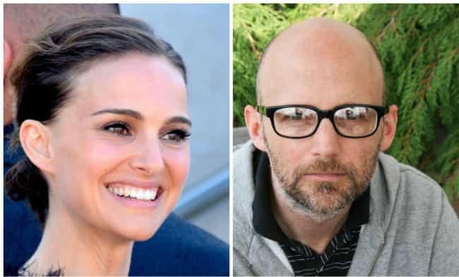Natalie Portman and Moby is listed (or ranked) 9 on the list Celebrities Who
