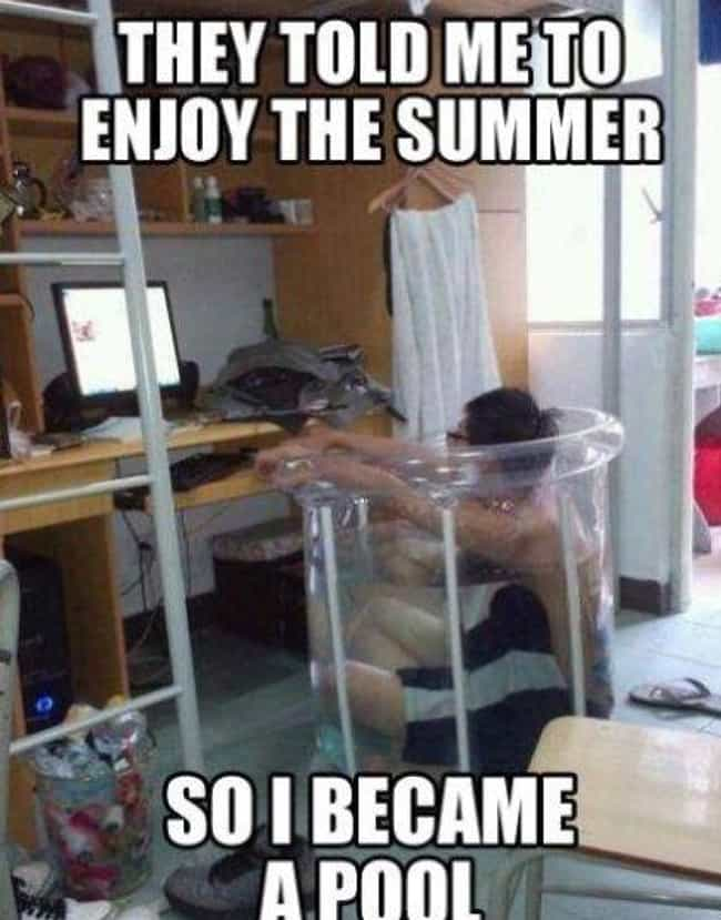 Become the Pool is listed (or ranked) 8 on the list 21 Memes That Are So You This Summer