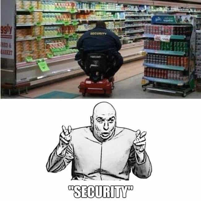 The Real Robocop is listed (or ranked) 2 on the list Funny Security Guard FAILs