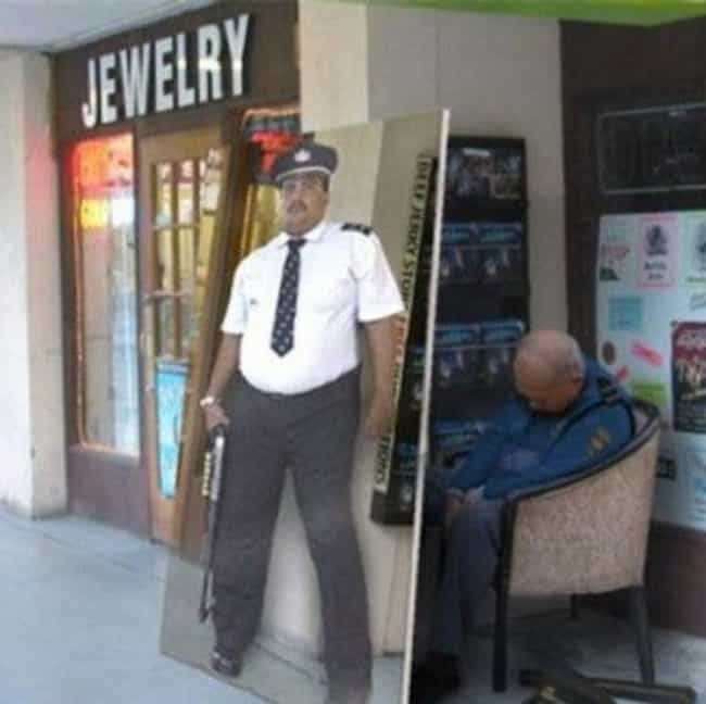Undercover Security is listed (or ranked) 3 on the list Funny Security Guard FAILs