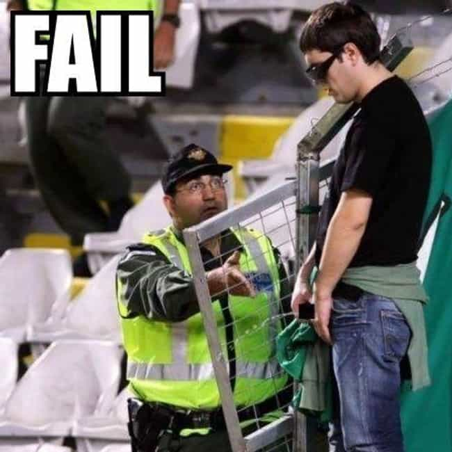 Sometimes Being a Security Gua... is listed (or ranked) 4 on the list Funny Security Guard FAILs