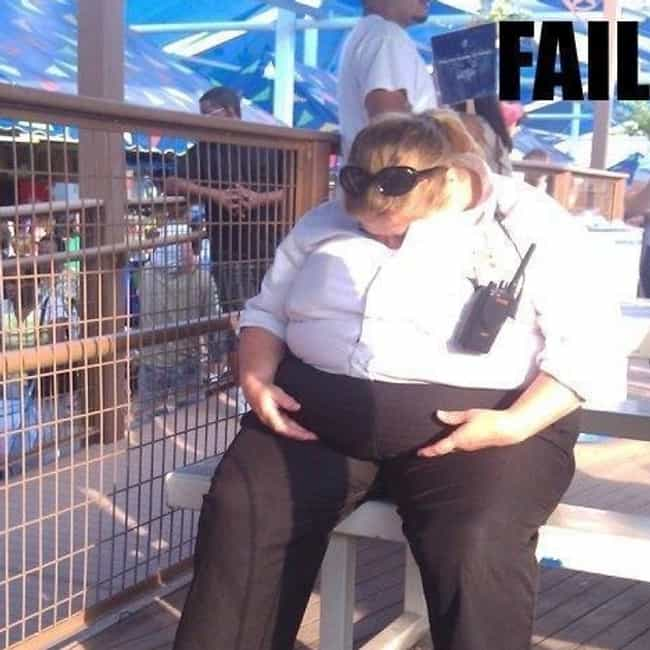 Sleeping Beauty is listed (or ranked) 1 on the list Funny Security Guard FAILs