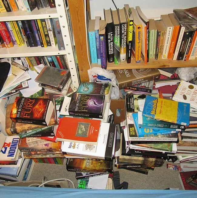 Becoming A Book Hoarder is listed (or ranked) 2 on the list The Biggest Struggles Only People Who Love Books Understand