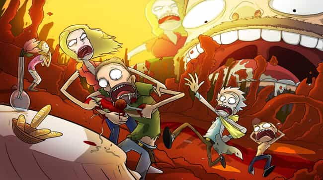 Dammit, Jerry... is listed (or ranked) 6 on the list The Schwiftiest Rick & Morty Fan Art