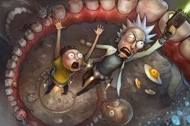 We Gotta Get Outta Here Morty is listed (or ranked) 2 on the list The Schwiftiest Rick & Morty Fan Art