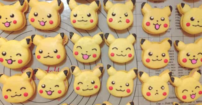 PikaCookies! is listed (or ranked) 1 on the list Pokémon Themed Deserts I Want To Shove In My Dumb Face Hole