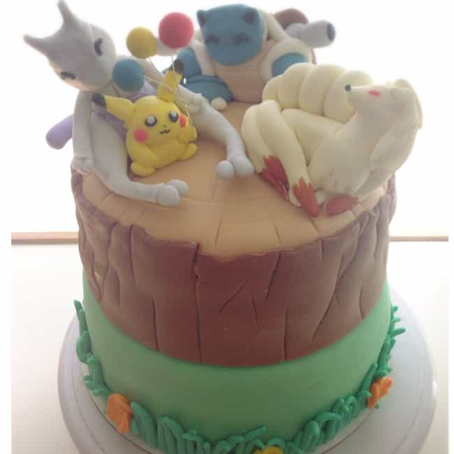 Best Friends Birthday Cake is listed (or ranked) 2 on the list Pokémon Themed Deserts I Want To Shove In My Dumb Face Hole