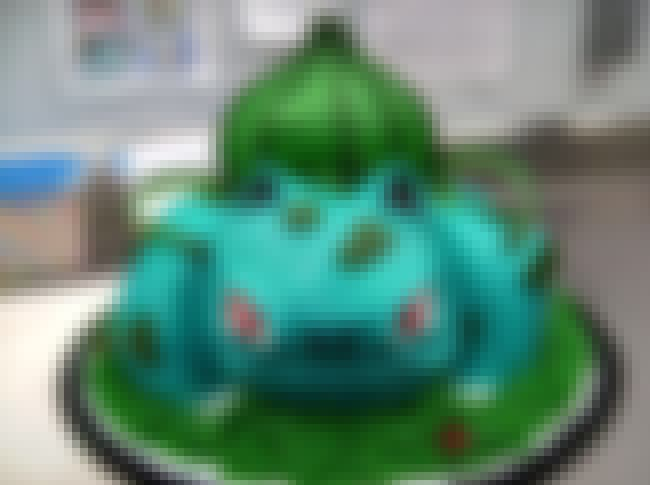 BulbaBirthday! is listed (or ranked) 3 on the list Pokémon Themed Deserts I Want To Shove In My Dumb Face Hole