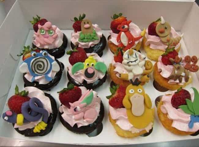 You Can't Just Have One! is listed (or ranked) 4 on the list Pokémon Themed Deserts I Want To Shove In My Dumb Face Hole