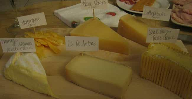 There Are Over 1,700 Different... is listed (or ranked) 2 on the list 18 Amazing Facts About the Science of Cheese