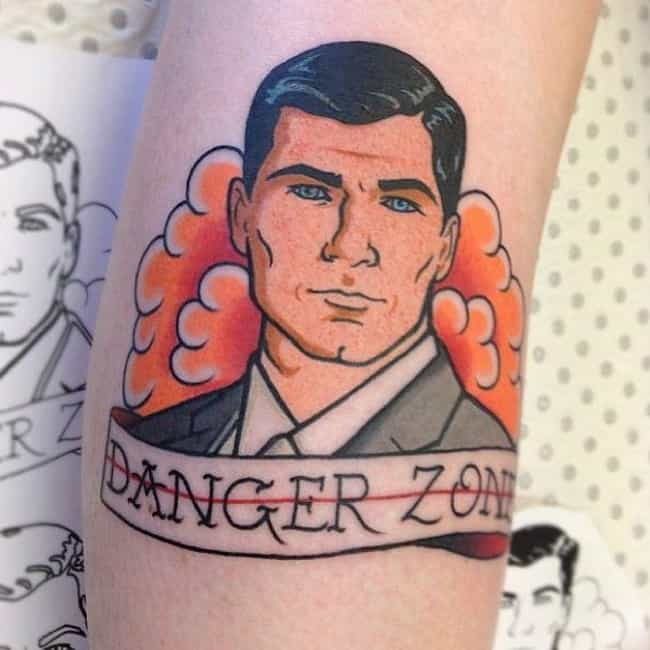 You Know Sterling Would Love T... is listed (or ranked) 1 on the list 26 Hilarious Tattoos Inspired by Archer