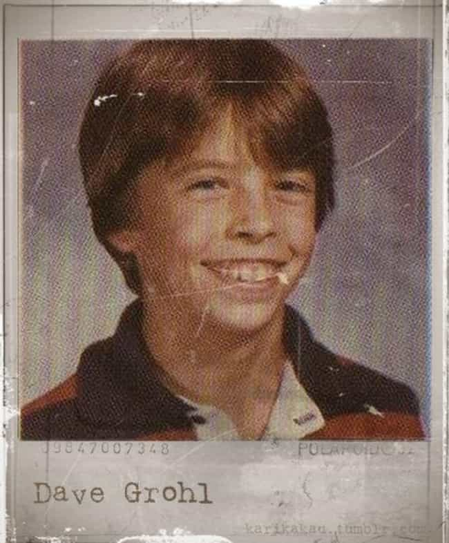 Dave Grohl is listed (or ranked) 1 on the list Rock Stars Who Were Nerds When They Were Kids