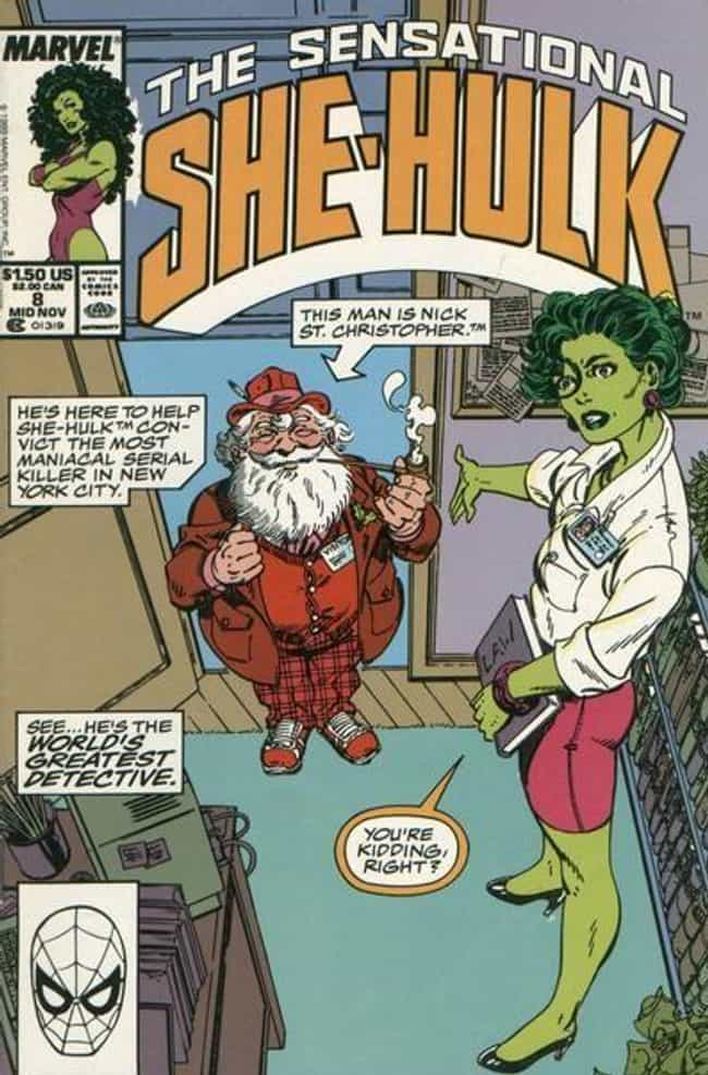 Private Eye Nick St. Chr... is listed (or ranked) 1 on the list 16 Times Santa Claus Showed Up in Comic Books