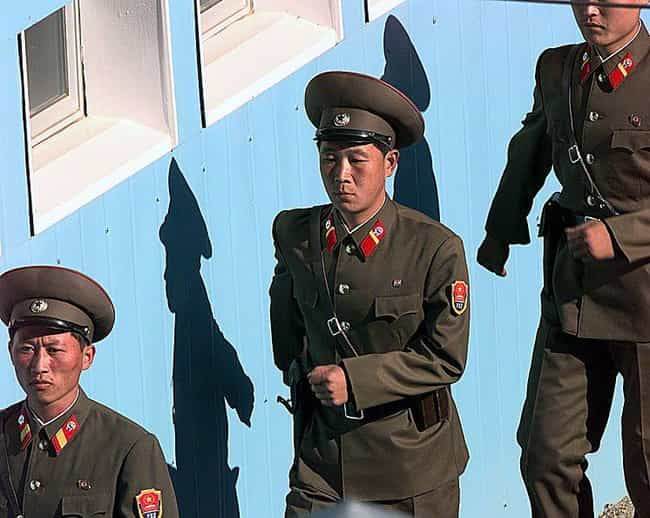 North Korea Has the Biggest Mi... is listed (or ranked) 1 on the list Scary Facts About the North Korean Military