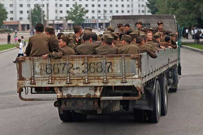 It Has a Huge Paramilitary For... is listed (or ranked) 2 on the list Scary Facts About the North Korean Military