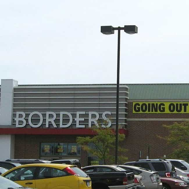 Borders is listed (or ranked) 2 on the list The Best Mall Stores from the 2000s That No Longer Exist