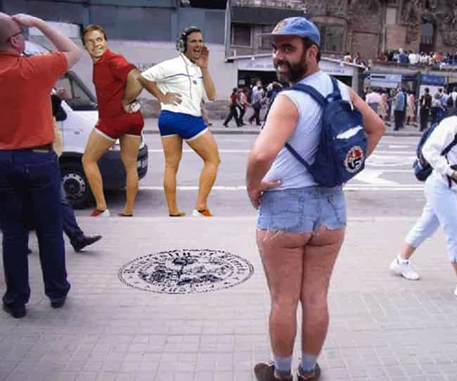 The Big Jort is listed (or ranked) 4 on the list 33 of the Most Epic Jorts Photos on the Internet
