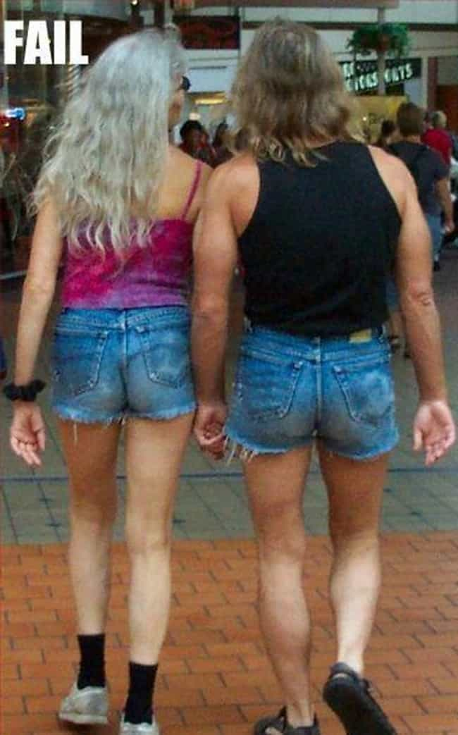 Power Couple is listed (or ranked) 2 on the list 33 of the Most Epic Jorts Photos on the Internet