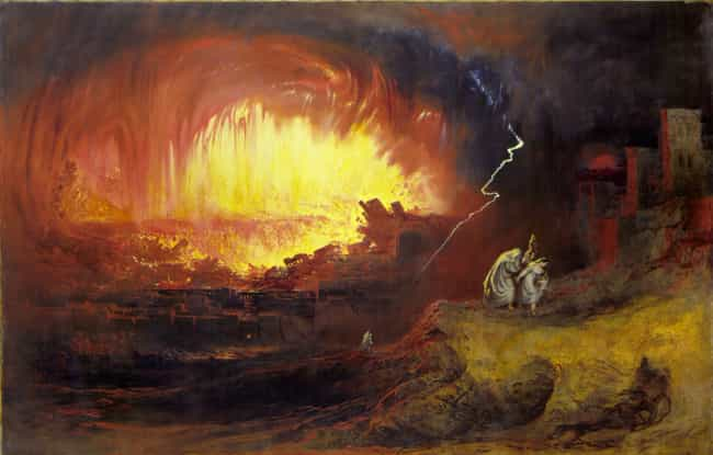 Sodom and Gomorrah is listed (or ranked) 2 on the list 11 Real Civilizations Destroyed by Apocalypse