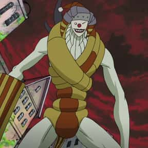 Clown is listed (or ranked) 16 on the list The Best Soul Eater Villains of All Time