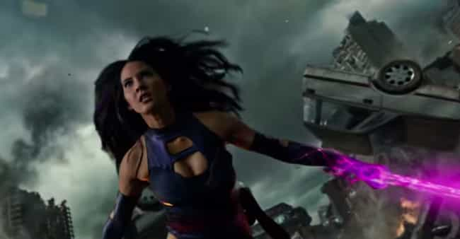 Psylocke's Katana Is Made ... is listed (or ranked) 3 on the list Things You Need to Know About the New X-Men in Apocalypse