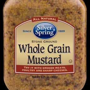 Silver Springs is listed (or ranked) 18 on the list The Best Whole Grain Mustard Brands