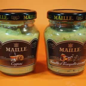 Maille is listed (or ranked) 7 on the list The Best Whole Grain Mustard Brands