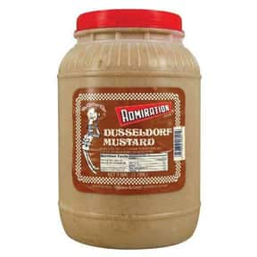 Admiration Dusseldorf is listed (or ranked) 8 on the list The Best Whole Grain Mustard Brands