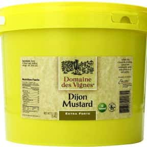 Domaine des Vignes is listed (or ranked) 13 on the list The Best Whole Grain Mustard Brands